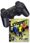 Sony PlayStation 3 Wireless Sixaxis Controller + FIFA Street 3